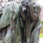 Detail of The Bughers of Calais at the Rodin Museum.
