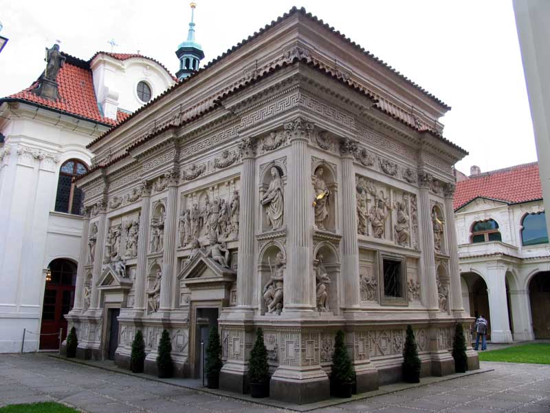 The Santa Casa within The Loreto in Prague.