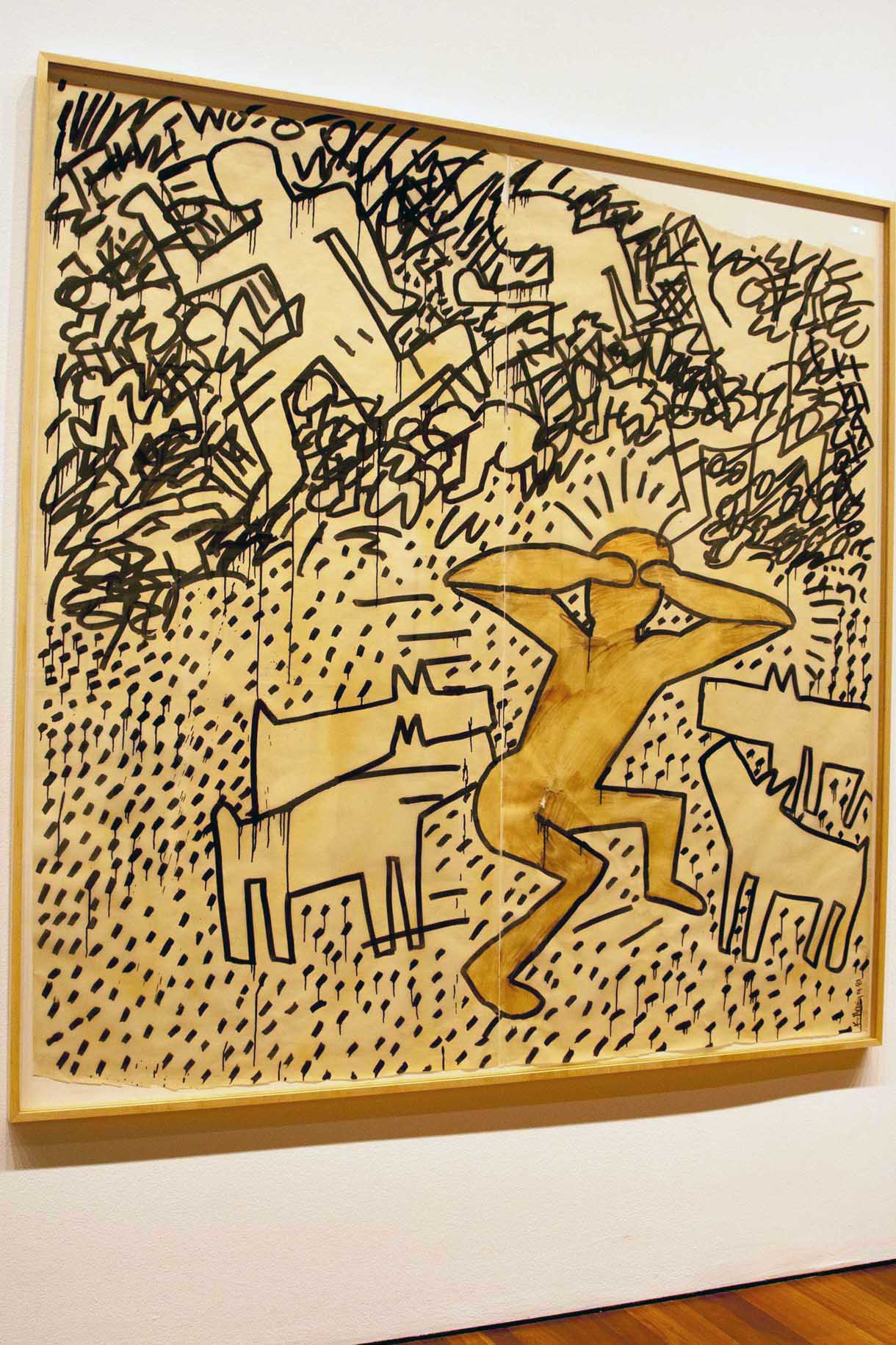 Keith Haring At The de Young - artist-at-large