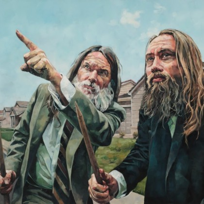 Wes Magyar, The Hunt, 2004, Oil on Canvas, 48 x 60 in.