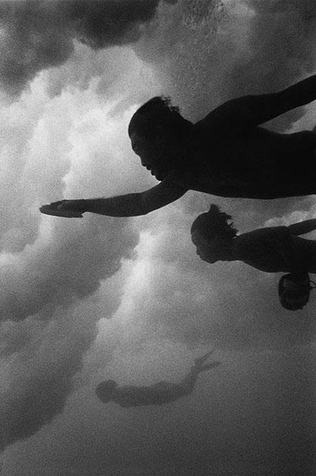 Wayne Levin, Body Surfers, 1983