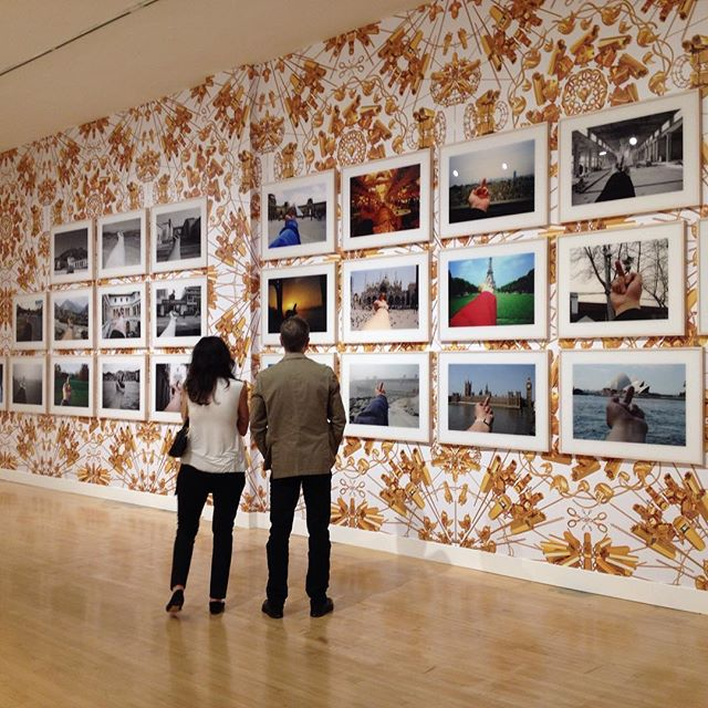 Ai WeiWei's photographs at Haines Gallery SF.