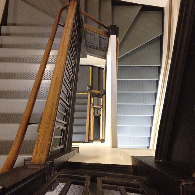 Stairs at 49 Geary SF