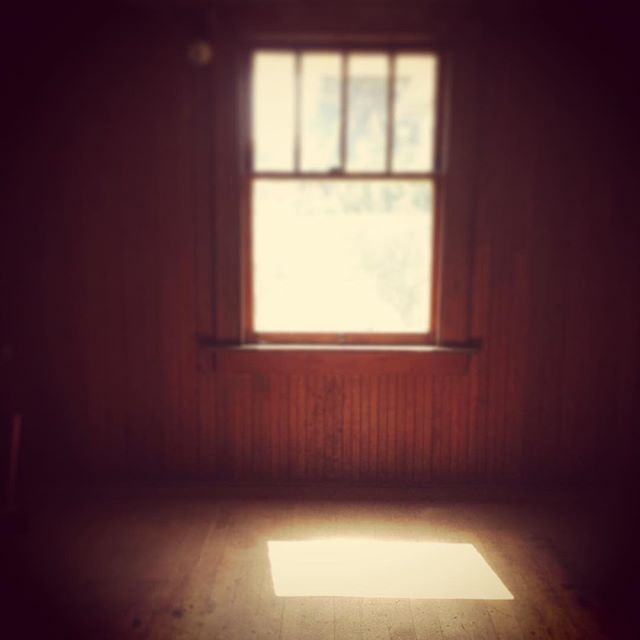 Light on floor through yonder window