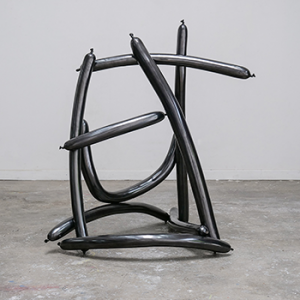 Inadequate (EVERY, DAY, ACTS, LIKE, LIFE) - LIKE, 2016. Cast bronze. 119 × 92 × 99 cm | 46 7/8 × 36 1/4 × 39 1/3 in. Courtesy the artist and Perrotin.