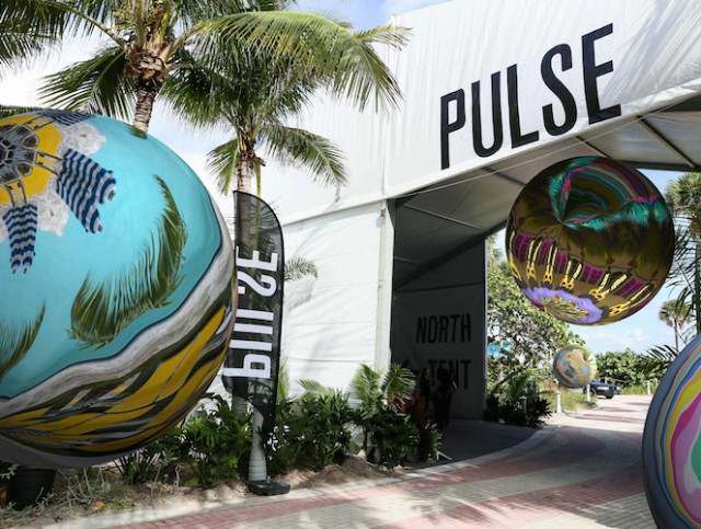 "Anne Spalter's PULSE Miami Beach 2016 PROJECTS Special Commission, ""Miami Marbles."""