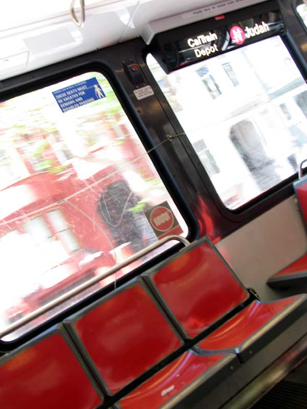 Take the N-Judah from one end of San Francisco to the other.