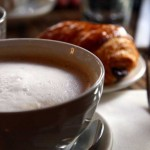 Morning coffee bowl in San Francisco.