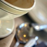 Coffee at the Elmwood Cafe in Berkeley.