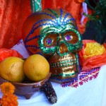 Altar at Day of the Dead in Oakland