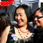 Jean Quan, Oakland's current Mayor at Day of the Dead.