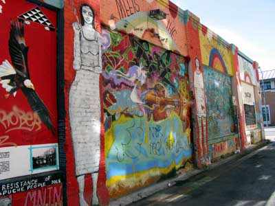 Clarion Alley murals, San Francisco