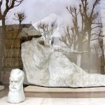 The outside Gallery of Marbles at the Rodin Museum.