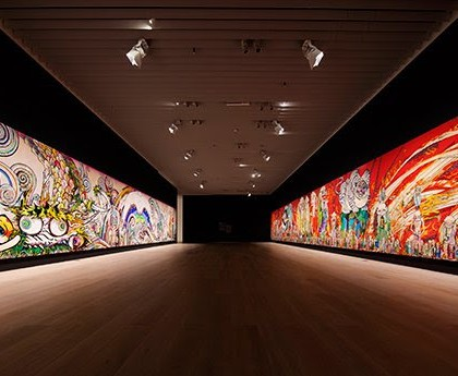 "Takashi Murakami, ""500 Arhats"""