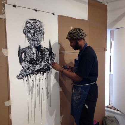 Creativity Explored artist JD Green.