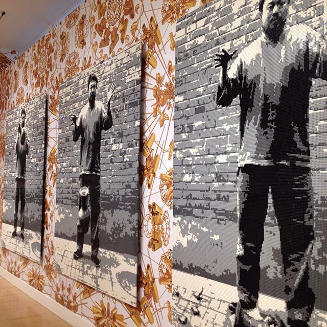 Ai WeiWei opening at Haines Gallery SF.