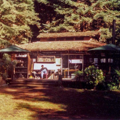 The Henry Miller Library in Big Sur, circa 2002. c. Kimberly Kradel