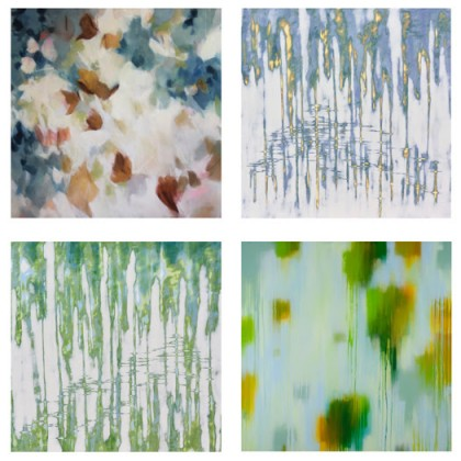 Luminosity, featuring new paintings by Carol Lefkowitz, Elise Morris, and Audra Weaser