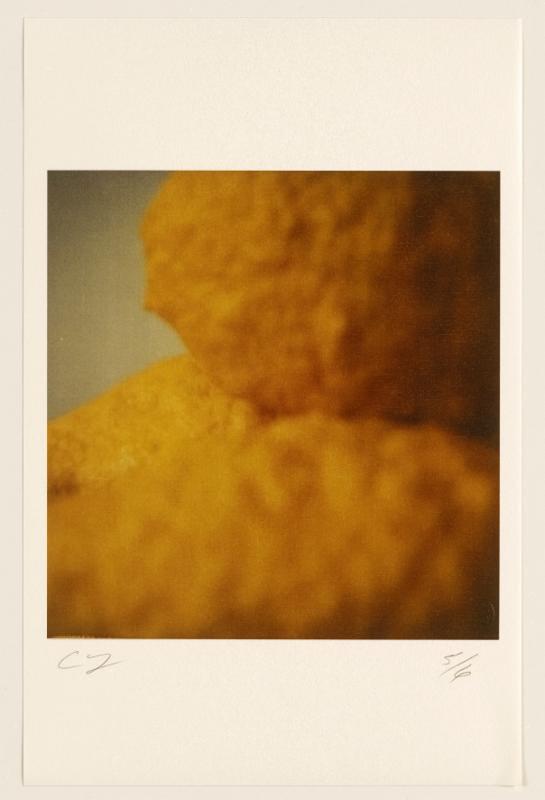 Lemons (Gaeta), 2005, color dry-print, 10 1/4 × 9 15/16 inches (26 × 25.2 cm), edition of 6. © Nicola Del Roscio Foundation.