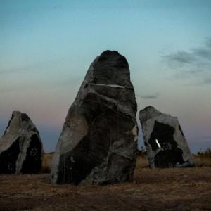 Haroon Mirza: Stone Circle