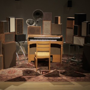The Poetry Machine, 2017. © Janet Cardiff and George Bures Miller, courtesy Fraenkel Gallery, San Francisco