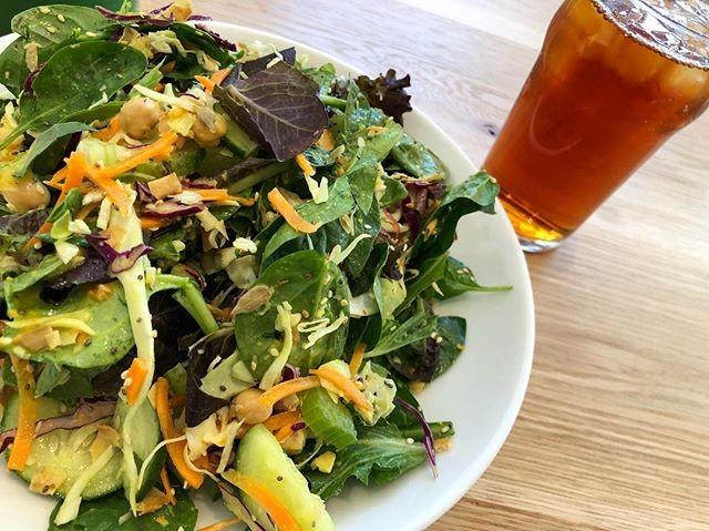The Golden Warrior Salad at Mixt