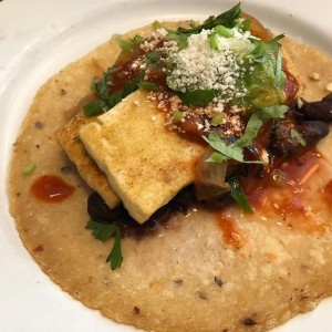 Tofu Taco at Glena's