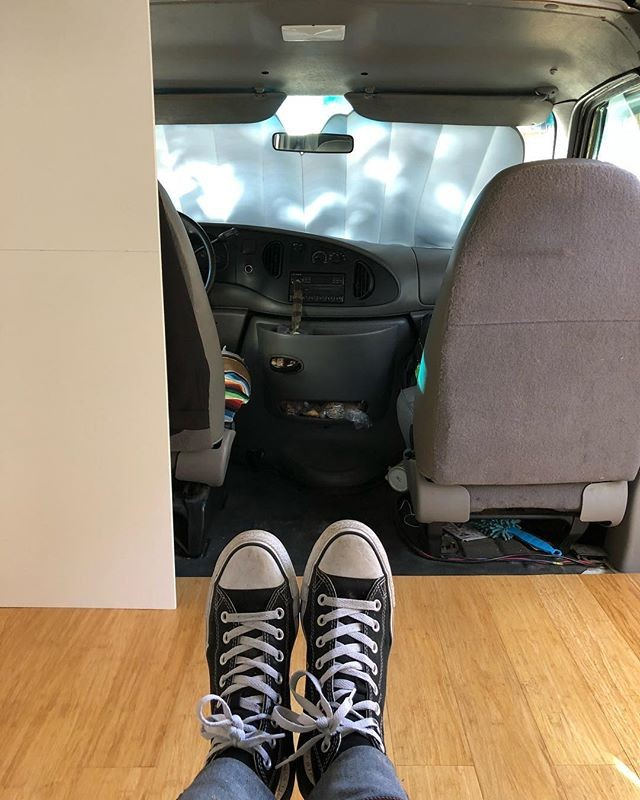 Kradel: My van was empty. c.2018
