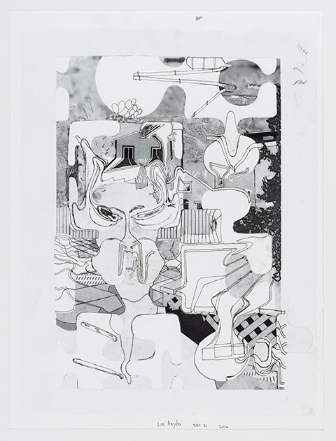 Michael Williams, Untitled Puzzle Drawing, 2016