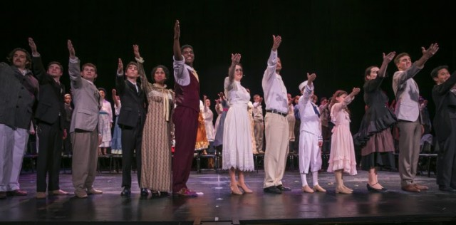 Featured players, including students and alumni, from SFArtsED's Summer 2017 production of Ragtime.