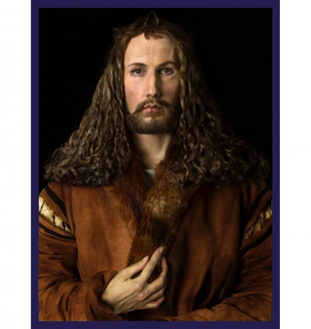 Gillian Wearing, Me as Dürer, 2018.