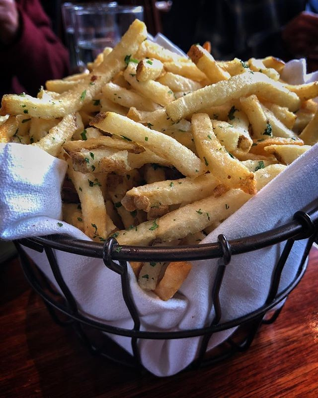 Basket of French Fries at The Wood Tavern