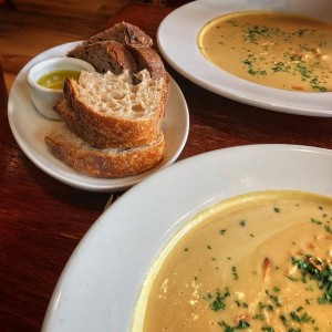 Kradel: Butternut Squash Soup At The Wood Tavern