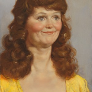 John Currin, Crystal's Friend, 2011, oil on canvas, 24 × 18 inches (61 × 45.7 cm) / John Currin, Crystal's Friend, 2011, huile sur toile, 61 × 45.7 cm