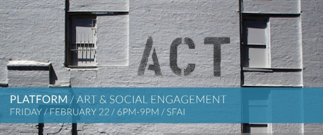 PLATFORM / Art & Social Engagement