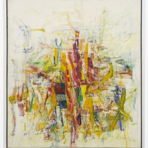 Ed Moses, Rafe Bone, 1958 oil on canvas, 73 x 65 1/4 inches