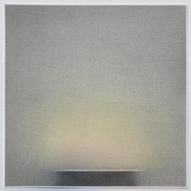 Pete Schulte, Flame IV (Desert Version), 2019, 11 X 11 inches, Graphite, Pigment, on Paper.