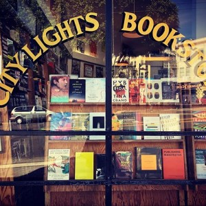 City Lights Bookstore in San Francisco.