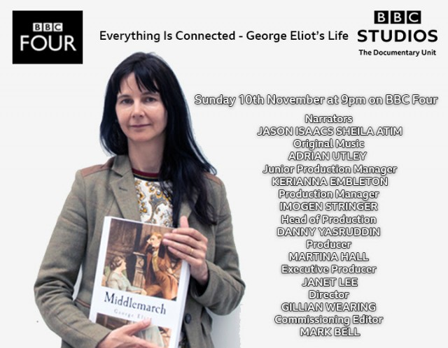 GILLIAN WEARING:  Everything Is Connected - George Eliot's Life