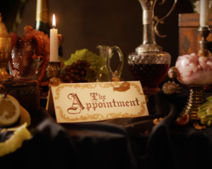 "Still from ""The Appointment"" by Alexandre Singh, 2019. Courtesy of the artist"