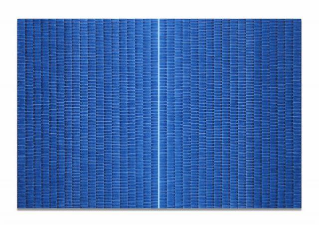 Anna Bogatin Ott, SW Iceland, 2020, Acrylic on canvas, 72 x 108 inches © Anna Bogatin Ott. Courtesy of Holly Johnson Gallery, Dallas, Texas