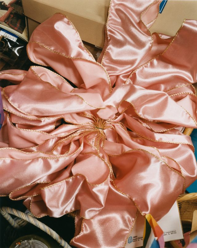 Roe Ethridge, The Pink Bow, 2001–02, C-print, 30 × 24 inches (76.2 × 61 cm), edition of 5 + 2 AP © Roe Ethridge