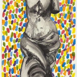 Color o n Her, 2009, Eau-forte réhaussée à la main, 121,9 x 81 cm