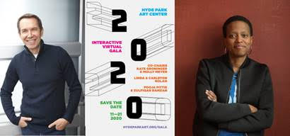 Virtual gala featuring conversations with JEFF KOONS, AMANDA WILLIAMS, plus programming for all ages, benefits Hyde Park Art Center, Nov. 21