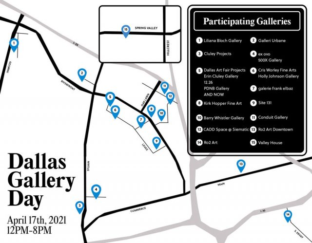 Dallas Gallery Day: A spring celebration of art exhibitions in the city