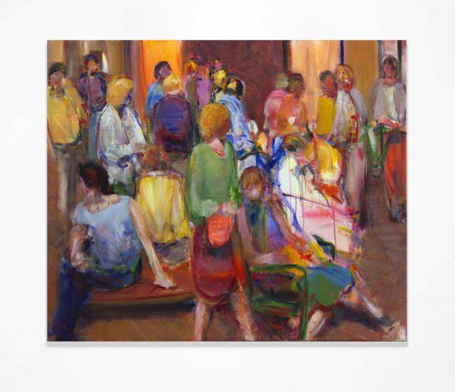 Simon Nicholas |Gallery VI, Acrylic on linen, 51 x 61 inches