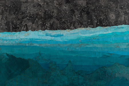 """Matthew Cusick, Leviathan, Archival Pigmented Ink on Canson Infinity Printmaking Rag 310 gsm, Ed. of 20, 36 x 52"""""""